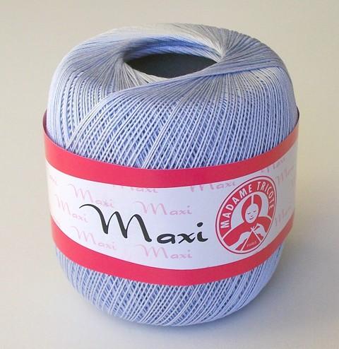 Háčkovací příze Maxi MT č.6307 světlá modrošedá