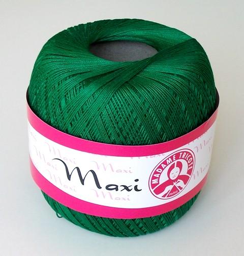 Háčkovací příze Maxi MT č.5542 tmavě zelená
