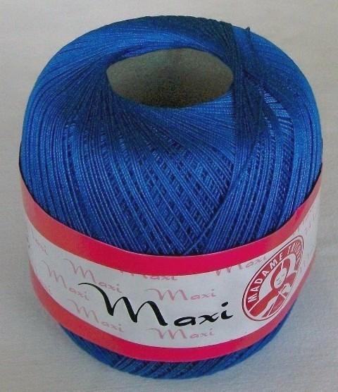 Háčkovací příze Maxi MT č.6335 středně modrá