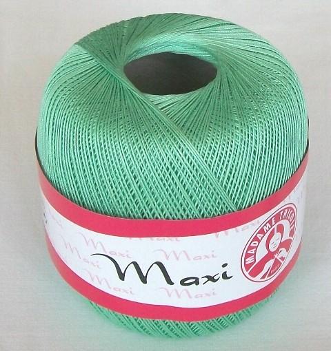 Háčkovací příze Maxi MT č.6361 nilská zeleň