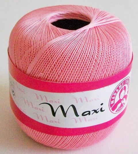 Háčkovací příze Maxi MT č.6313 světle růžová