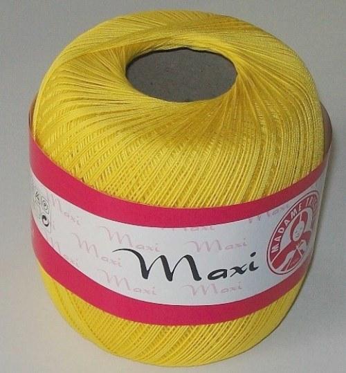 Háčkovací příze Maxi MT č.5530 teplá žlutá