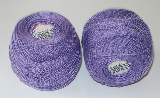 Háčkovací příze Kordonet barevný č. 30 kosatec 4444