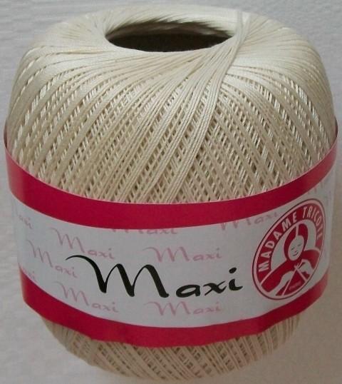 Háčkovací příze Maxi MT č.6194 světle krémová