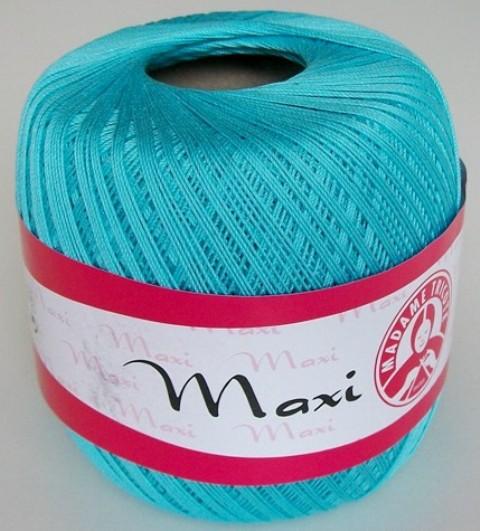Háčkovací příze Maxi MT č.5353 azurová