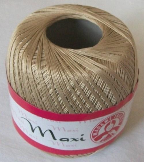 Háčkovací příze Maxi MT č.4660 ecru