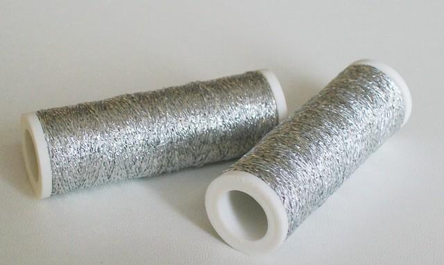 Lurexová nit Metalux stříbrná 301