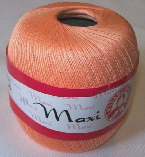 Háčkovací příze Maxi MT č.6322 lososová